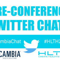Cambia and HLTH preconference tweetchats