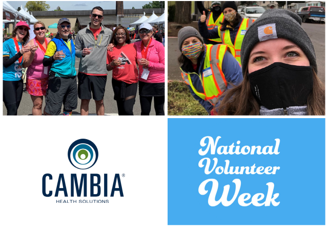 National Volunteer Week Cambia Health Solutions