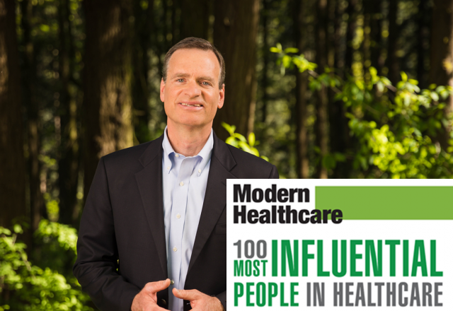 Mark Ganz Cambia Health Solutions President and CEO Modern Healthcare 100 most influential