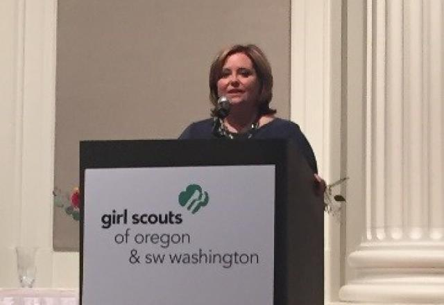Peggy Maguire Girl Scouts Speech