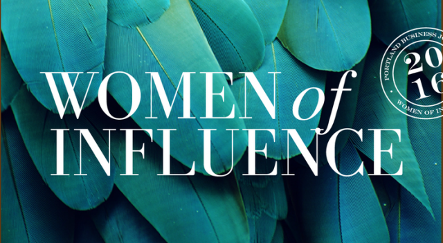 2016 Women of Influence Portland Business Journal