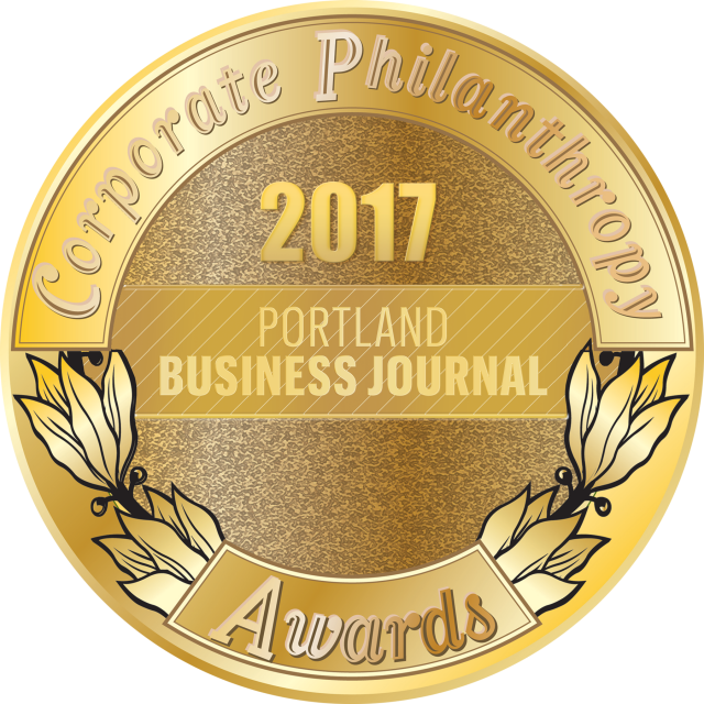 2017 Portland Business Journal Corporate Philanthropy Award