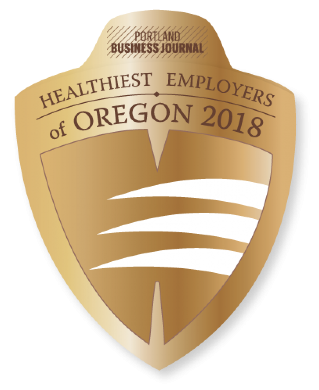 Portland Business Journal Healthiest Employers of Oregon 2018