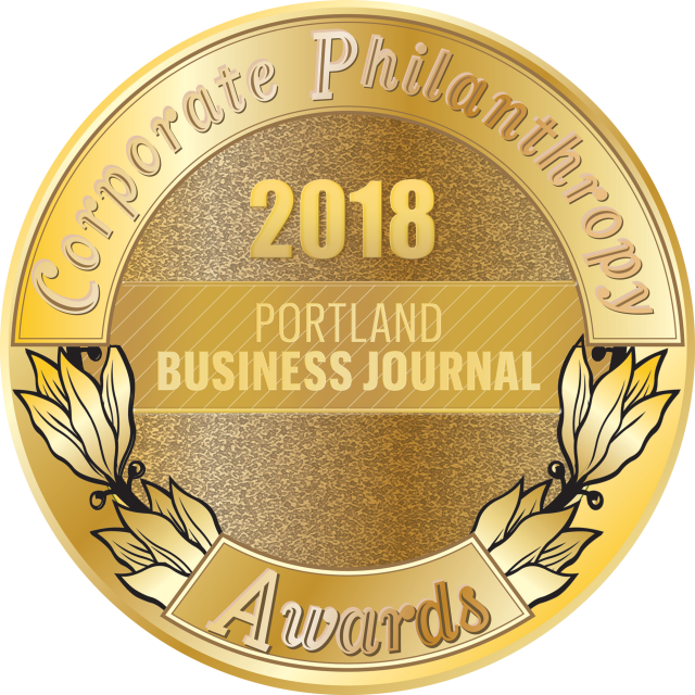 2018 Corporate Philanthropy Medal Portland Business Journal