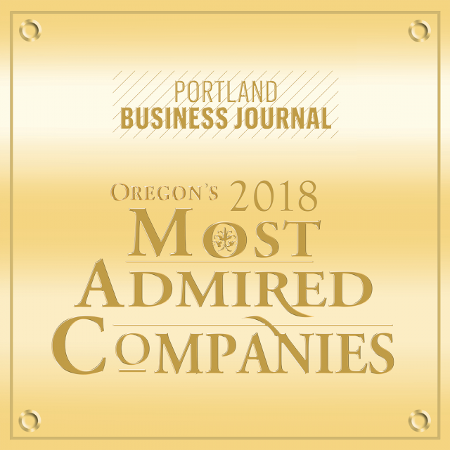 2018 Oregon's Most Admired Companies