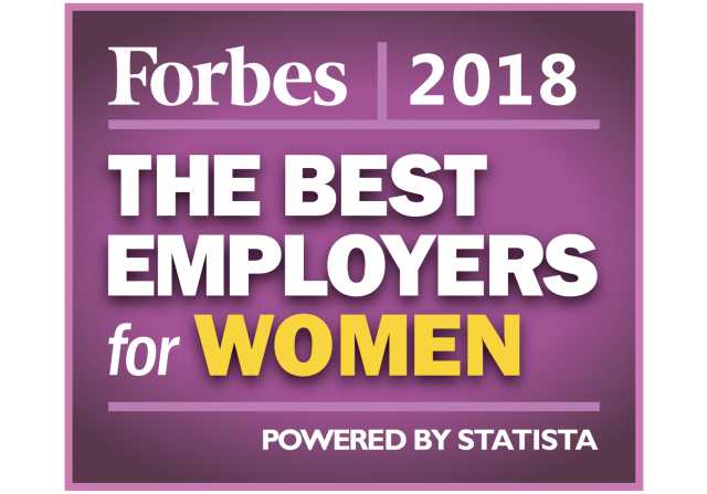 The Best Employers for Women Forbes 2018
