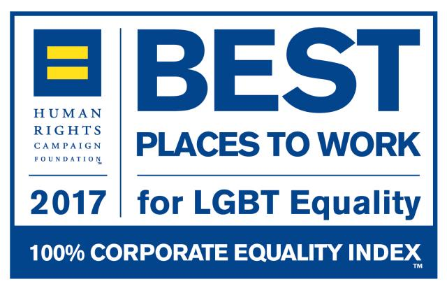 2017 Best Places To Work for LGBTQ Equality Human Rights Campaign Foundation