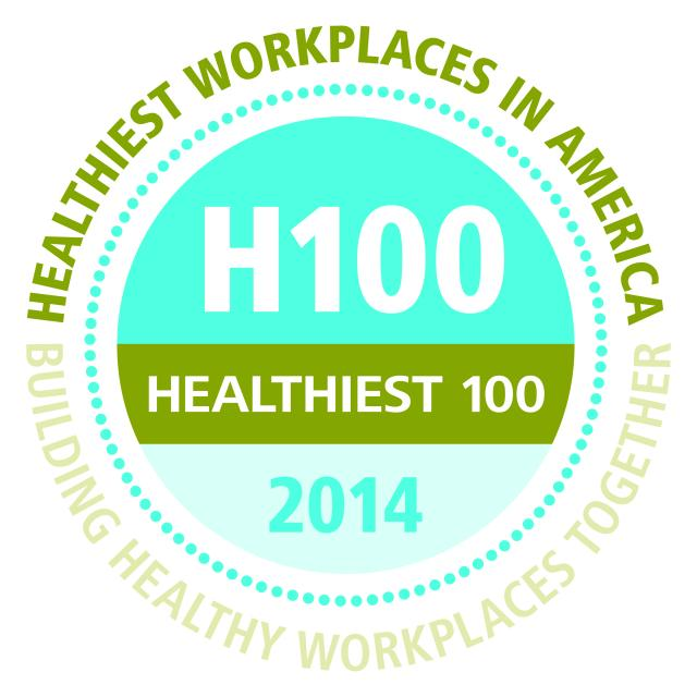 H100 Healthiest 100 2014 Healthiest Workplaces in America