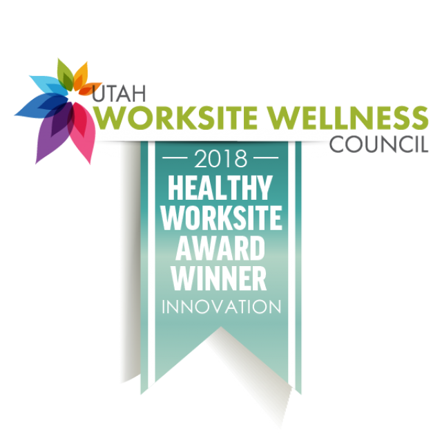 2018 Healthy Worksite Award Winner Innovation Utah Worksite Wellness Council
