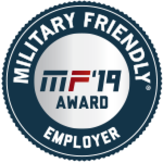 MF-19 Military Friendly Employer Award
