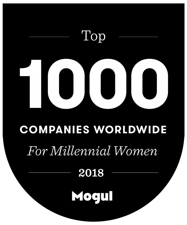 Mogul 2018 Top 1000 Global Millennial Women Award