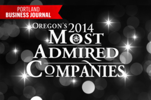 Portland Business Journal 2014 Oregon's Most Admired Companies