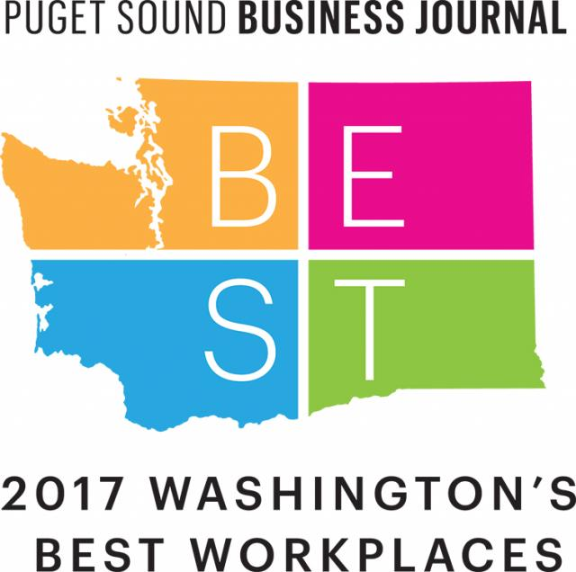 Pugent Sound Business Journal 2017 Washington's Best Workplaces