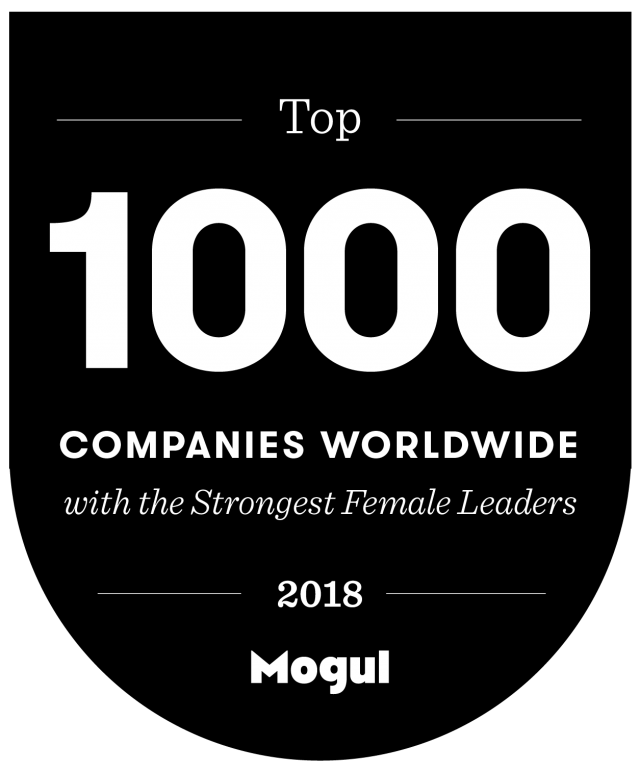 2018 Mogul Top 1000 Companies Worldwide with the Strongest Female Leaders