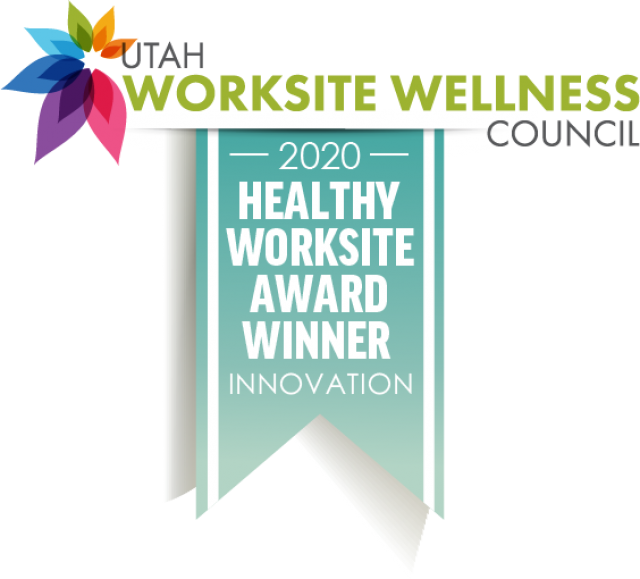 2020 INNOVATION Utah Worksite Wellness Council PLATINUM Award