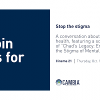 Stop the Stigma Mental Health Cambia health solutions