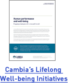Cambia's Lifelong Well-being Initiatives